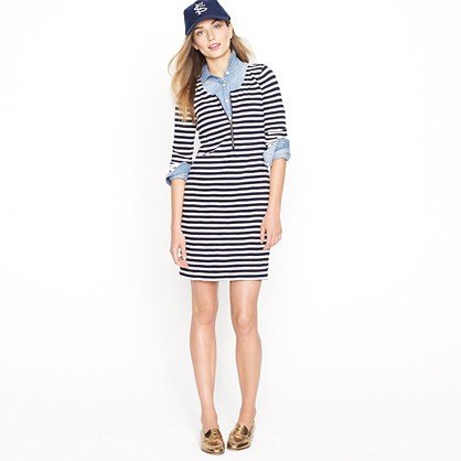 J.Crew Zip-Front T-Shirt Dress ($88)