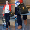 Emmy Rossum Airport Style March 26, 2012