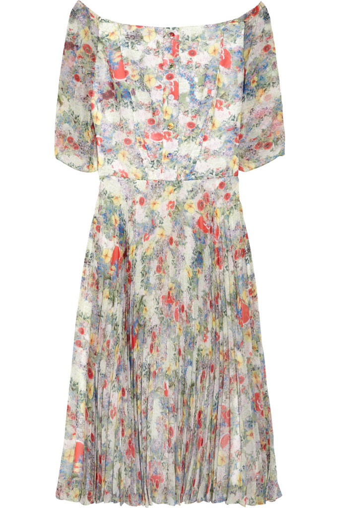 Erdem Anouchska Printed Chiffon Dress ($2,480)