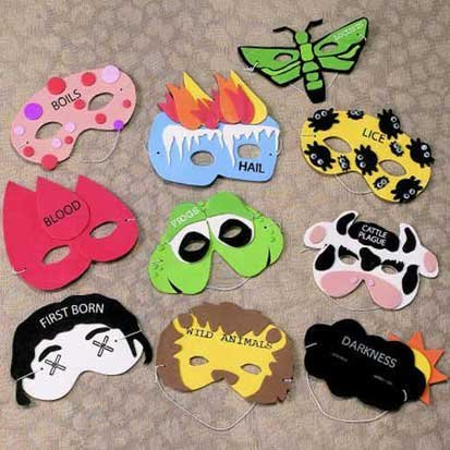 10 Plagues Masks