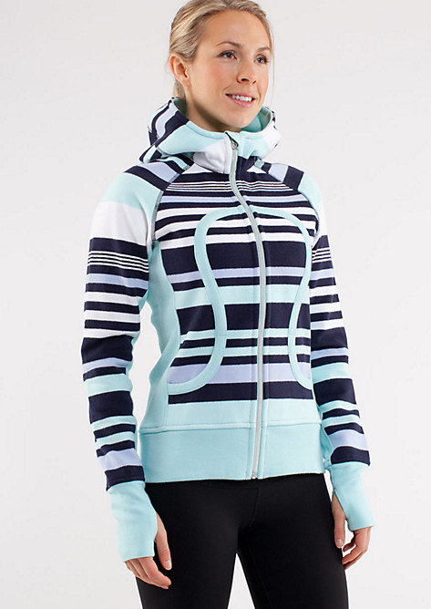 A quality sweatshirt that can stand up to the elements of a workout is a hard find. This Striped Scuba Hoodie ($128) comes equipped with all the pockets you need for a morning run, but it's also cute enough to rock all weekend long.