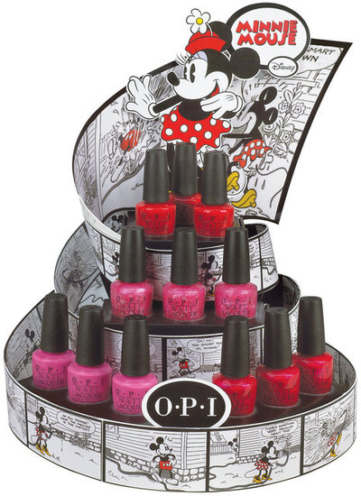 OPI Set to Launch a Limited Edition Minnie Mouse Collection