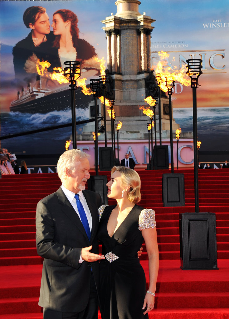 Kate Winslet Reunites With James Cameron and Billy Zane at Titanic 3D Premiere