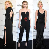January Jones Wears Backless YSL For a Star-Studded Night at the Opera