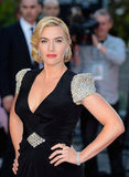 Kate Winslet at the Titanic 3D world premiere in London.