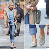 Amber Heard Studded Loafers by Jeffrey Campbell