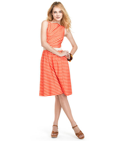 L.L. Bean Stripe Poplin Dress ($119)