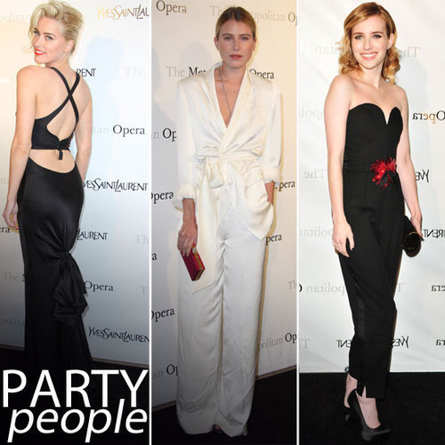 Amber Heard, Emma Roberts, Dree Hemingway & MKore Frock Up for the Met Opera Premiere Of Manon Presented by Yves Saint Laurent