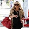 Jessica Simpson Pregnant Shopping at Fred Segal Pictures