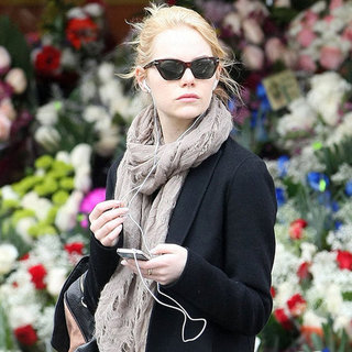 Emma Stone Strolling Downtown NYC Pictures