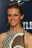 Brooklyn Decker looked like she was having a great time at a photo call for Battleship in London.