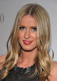 Nicky Hilton posed at a celebration for Valentino's 50th anniversary in LA.