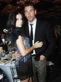 Adriana Lima and Marko Jaric at an event together.