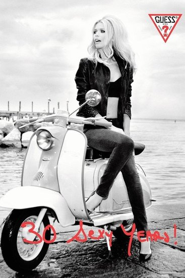 Claudia Schiffer for Guess 2012