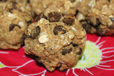 Carob Chip Protein Cookies