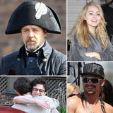 Russell Crowe, James Franco, Elizabeth Olsen, and More Stars on Set!