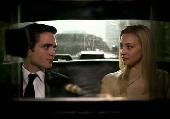Robert Pattinson and Sarah Gadon in Cosmopolis. Photo courtesy of Alfama Films