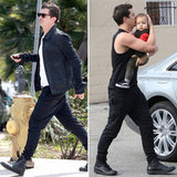 Orlando Bloom Does Dad Duty With Flynn While Miranda Kerr Talks VS