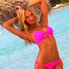 Victoria's Secret Model Candice Swanepoel's Beach Style