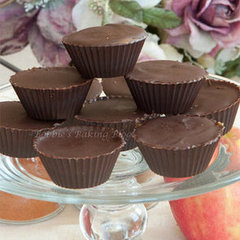 Spicy Chocolate Caramel-Apple Cups