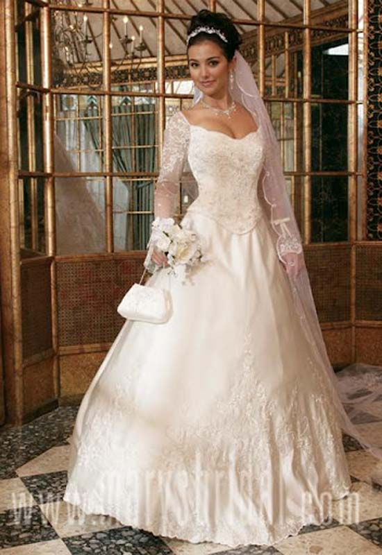 Lucretia\'s blog: informal wedding gowns sleeves If you have decided ...