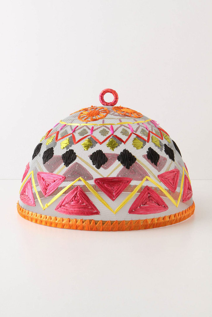 Throwing an outdoor shindig? Protect your dishes from unwanted bugs with this bright patterned Viveza Food Cover ($24).
