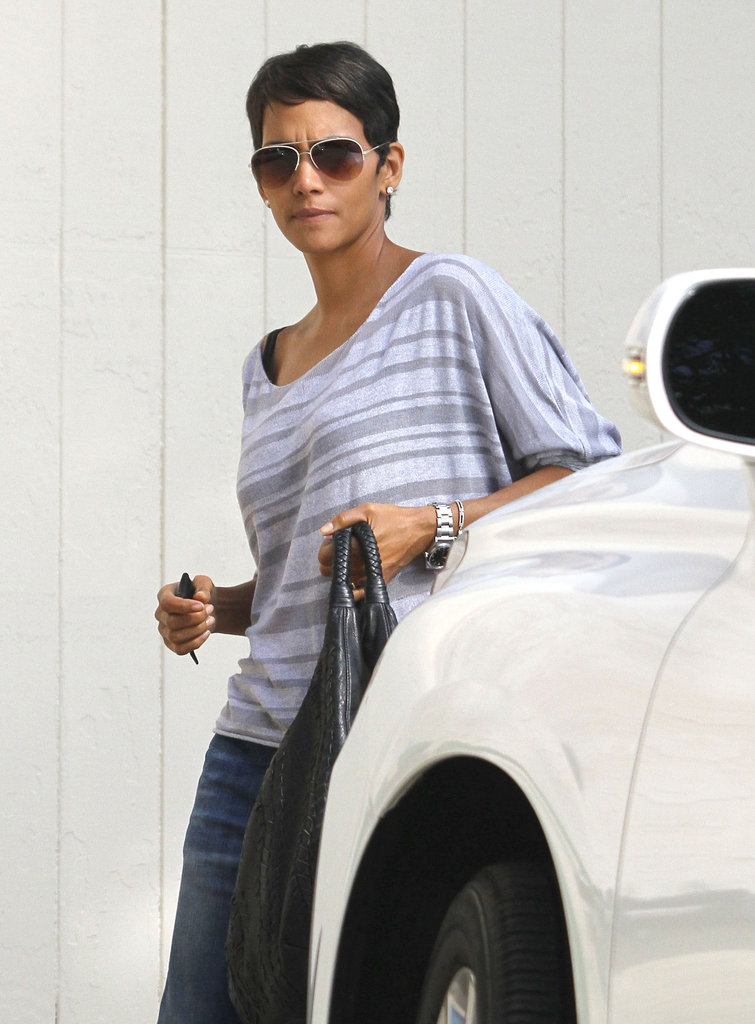 Halle Berry was spotted in LA.