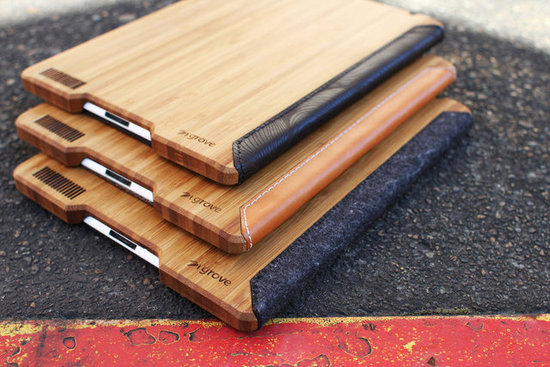 Grove Bamboo iPad Case ($120)