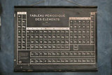 French Periodic Table ($175)