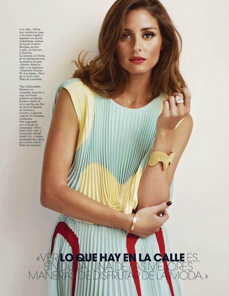 The Unstoppable Olivia Palermo Goes Retro Glam in the Pages of Marie Claire Spain