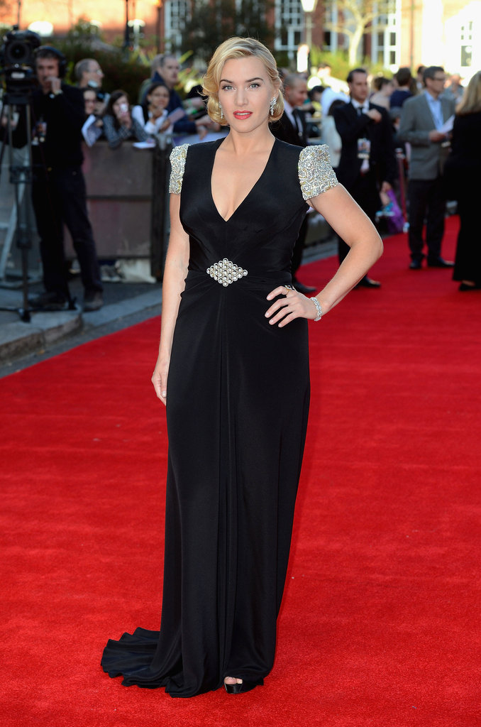 We were stunned by Kate Winslet's red-carpet glam in Jenny Packham.