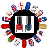 DIY Union Jack Manicure