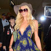 Celebrity Arrivals at Sydney Airport For Marquee Opening Party: Paris Hilton, Kellan Lutz, Ashlee Simpson and More