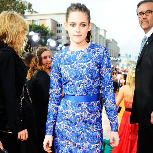 Kristen Stewart in Blue Stella McCartney at 2012 Kids' Choice Awards