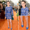 Kristen Stewart Wear&#039;s Stella McCartney Lace Dress to the 2012 Nickelodeon Kids&#039; Choice Awards: Scope It From All Angles!