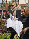 Charlize Theron carried son Jackson Theron.