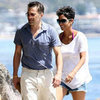 Halle Berry &amp; Olivier Martinez on Beach in Malibu Pictures