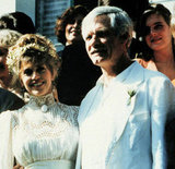Jane Fonda and Ted Turner became husband and wife in 1991.