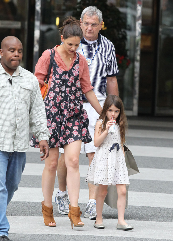 Katie Holmes and Suri Cruise Bring Their Best Spring Looks to Baton Rouge