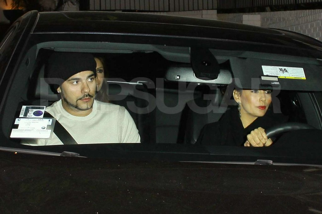 Eva Longoria left the Chateau Marmont with Eduardo Cruz.
