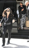 Beyoncé and Tina Knowles went out in NYC with Blue.