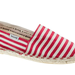 This bright and candy-striped would look great against a pair of white jeans.