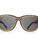 Alexander Wang Zip-Effect D-Frame Acetate Sunglasses ($390)