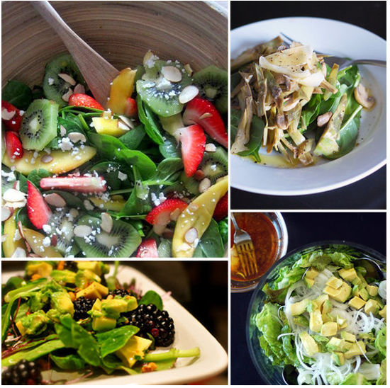 Taste the Rainbow With These Seasonally-Inspired Vegetarian Salads