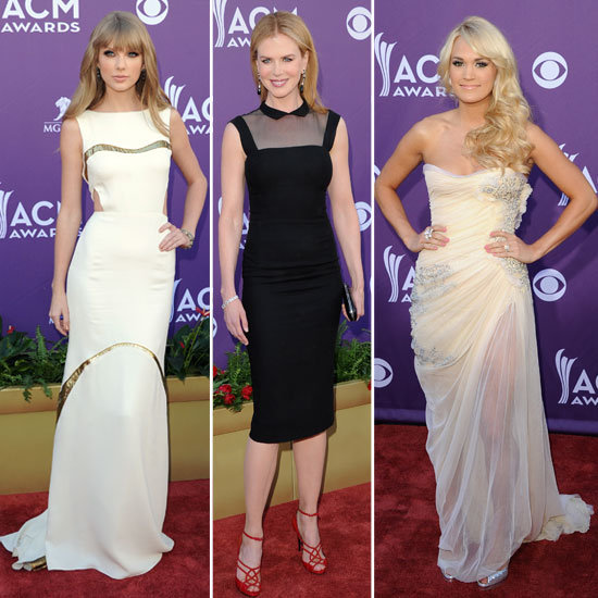 Red Carpet Round Up: All the Glamour from the 2012 ACM Awards!