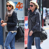 Cameron Shows Off Not One, but Two Fab Layered Looks in NYC