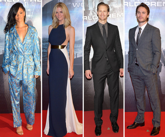 Rihanna, Brooklyn, Alexander and Taylor Set Their Sights on Tokyo For Battleship's Premiere