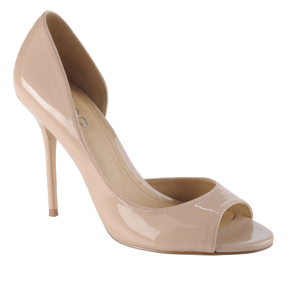 Invest in a quintessential nude stiletto like this and you'll hardly have to think of what shoes to wear all wedding season.  Aldo Hersey Heels ($80)