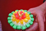 Jelly Belly Flower Cupcake