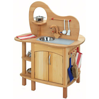 Glueckskaefer Wooden Play Kitchen ($423)